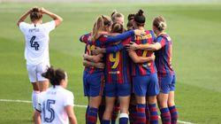 El Barça golea al Madrid en el primer 'clásico' femenino de la