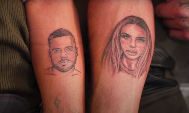 Katie Price and Carl