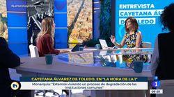 La petición de Mónica López a Álvarez de Toledo acaba en tensión: