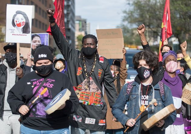 Nakuset est l'une des coordonatrices de la manifestation contre le racisme systémique intitulée...