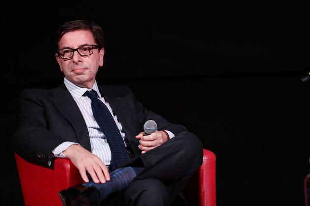 ROME, ITALY - OCTOBER 20: Artistic Director of Festival Antonio Monda attends the masterclass during...