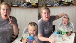 Amy Schumer Loses It When Her Son Says 'Dad' For The Very First