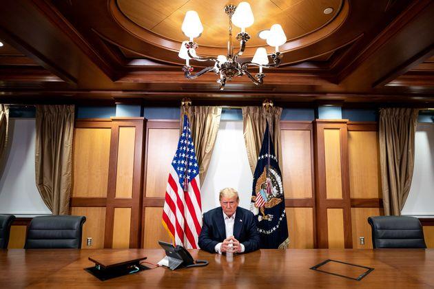 El presidente Donald