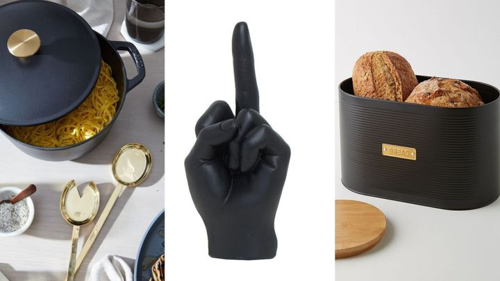 The best matte black home finds for the kitchen, living room and more.