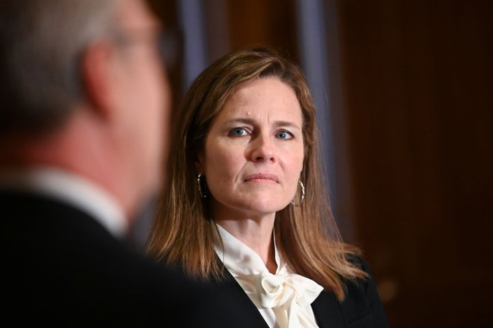 Amy Coney Barrett is drawing supreme opposition from national civil and human rights groups.