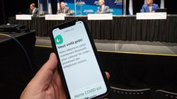 L'application «Alerte COVID» maintenant disponible au