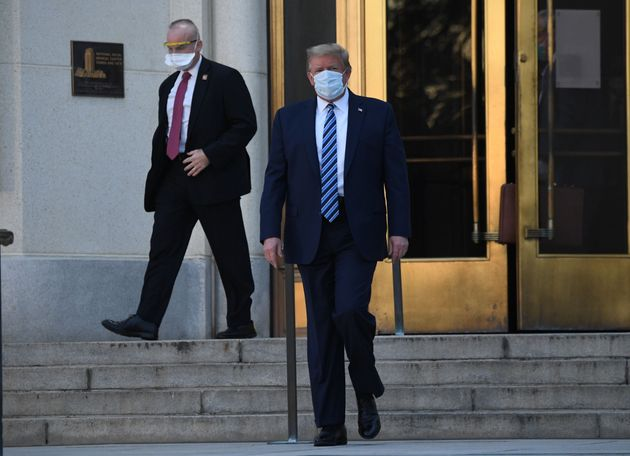Trump Leaves Hospital As Questions Mount Over Covid-19 Condition