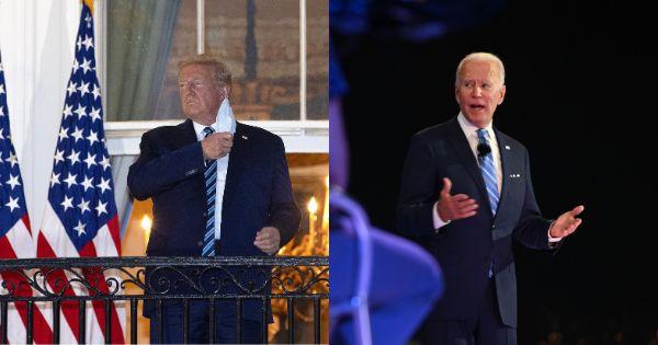 Biden oppose le lourd bilan de la COVID-19 aux propos de