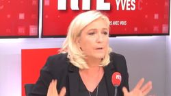 Pour Marine Le Pen, les propos de Zemmour sont