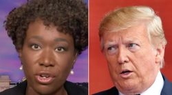 Joy Reid Sums Up Trump's Mask Removal Stunt With 3 Biting