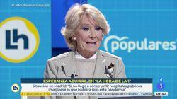El único error que Esperanza Aguirre achaca a Isabel Díaz Ayuso en su gestión de la