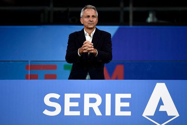 Paolo Dal Pino, presidente Lega Serie A, positivo al