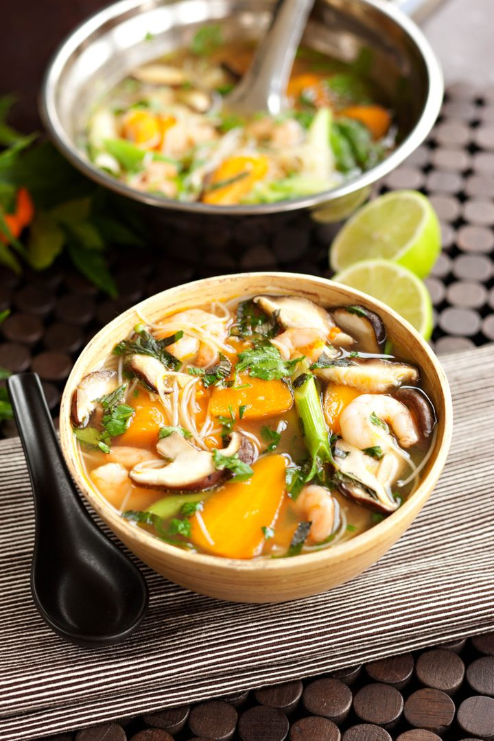 "Prawn and Chantenay Carrot Noodle Soup from <a href=""https://chantenay.co.uk/"" target=""_blank"" rel=""noopener noreferrer"">chantenay.co.uk</a>"