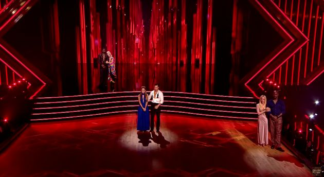 Dancing With The Stars Suffers Huge Live Gaffe As Wrong Bottom Couple Is Announced