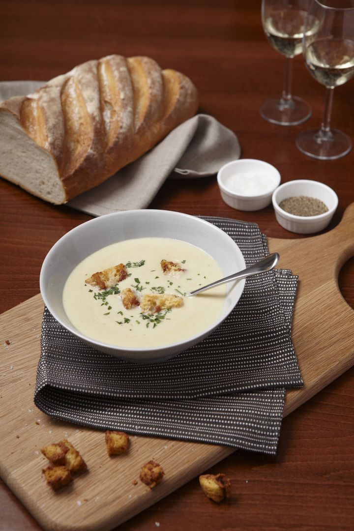 "Creamy Celery Soup with Stilton Cheese recipe from <a href=""https://lovecelery.co.uk/"" target=""_blank"" rel=""noopener noreferrer"">lovecelery.co.uk</a>"