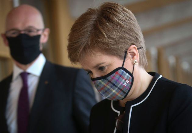 Scotland Set For New Lockdown Restrictions Amid 'Sharply Rising Rate Of