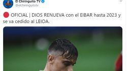 Las seis palabras con las que un futbolista ha contestado a este tuit de 'El
