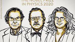 Roger Penrose, Reinhard Genzel y Andrea Ghez, Nobel de Física