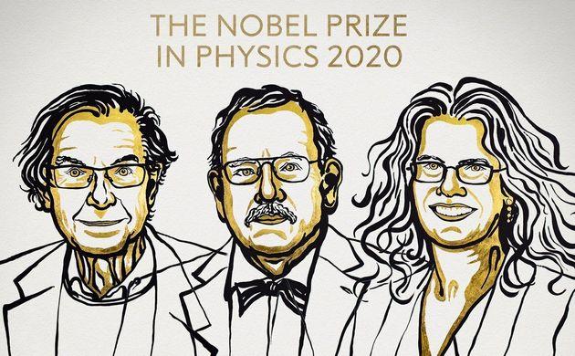 Roger Penrose, Reinhard Genzel y Andrea