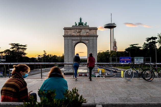 Madrid, en una imagen de este 5 de