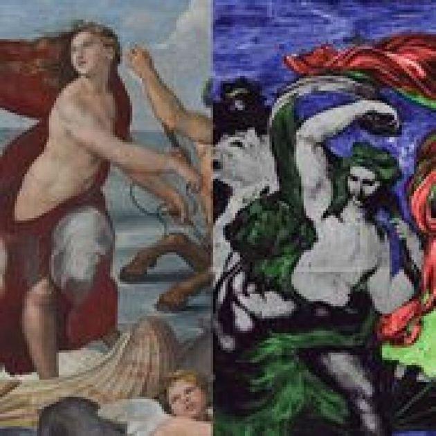 Raffaello e l'antico blu egizio in mostra alla