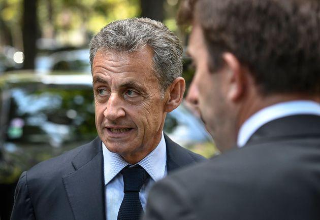 Nicolas Sarkozy, ici à Neuilly-sur-Seine, le 25 juin