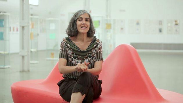 Sonia Pulido en el Encuentro Internacional de Ilustración Vilustrado en Valladolid en