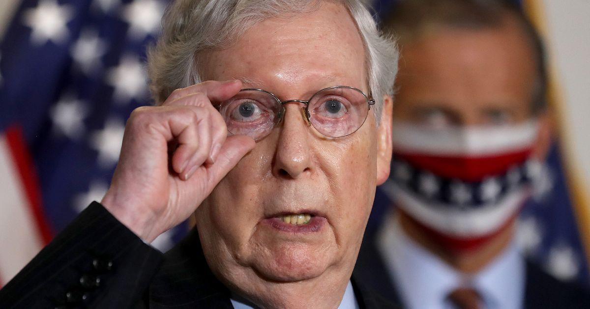 Republicans Scramble To Defend Mitch McConnell's Senate Majority