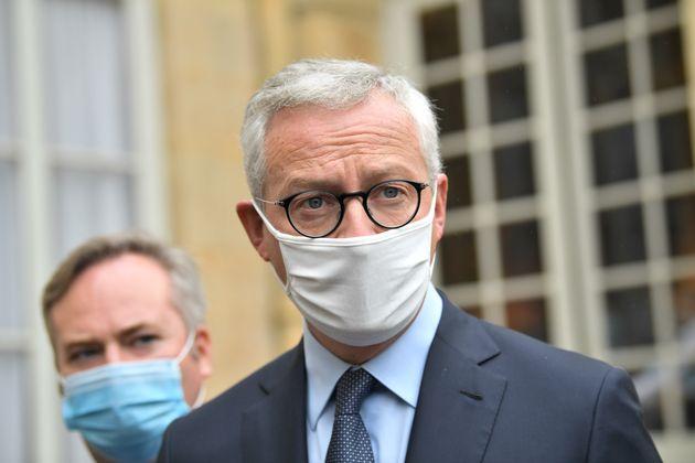 Bruno Le Maire, ici à l'hôtel Matignon à Paris, le 29 septembre