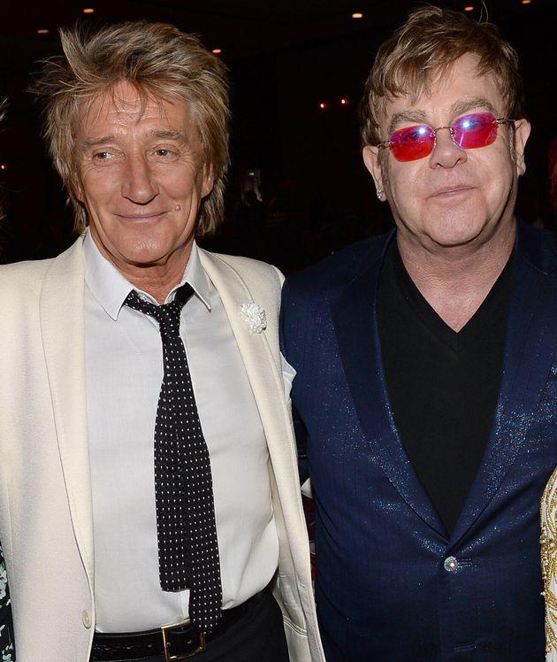 Rod Stewart and Elton