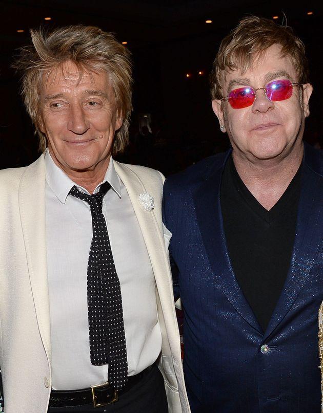 Rod Stewart Reveals Failed Attempt At Mending Elton John Friendship After 'Big Falling Out'