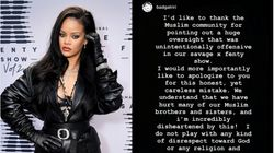 Rihanna Apologises After Backlash For Using Islamic Texts In Lingerie