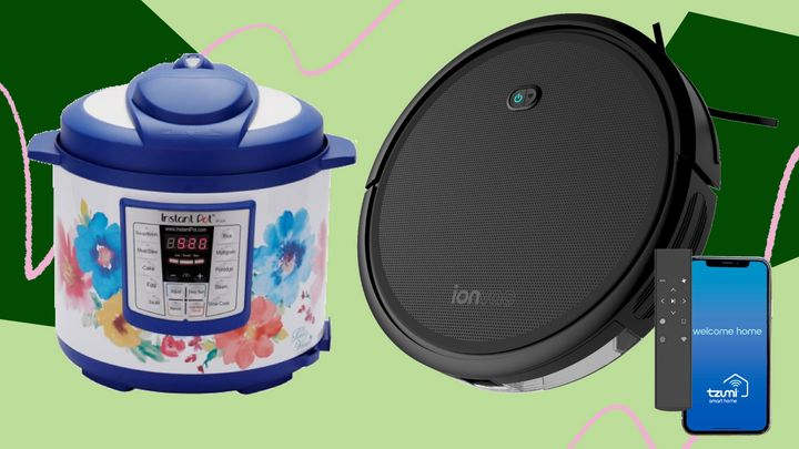 Walmart Prime Day deals on home appliances, including Instant Pots and robot vacuums.