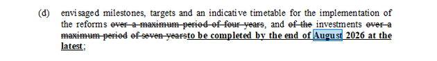 Ecofin 6 ottobre 2020, documento conclusivo su 'Recovery and resilience
