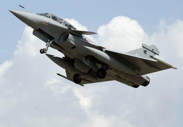 La France va commander 12 avions de combat Rafale supplémentaires (photo d'illustration prise...