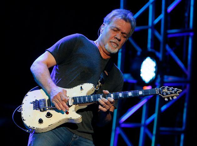 Eddie Van Halen lors d'un concert en Arizona, en septembre