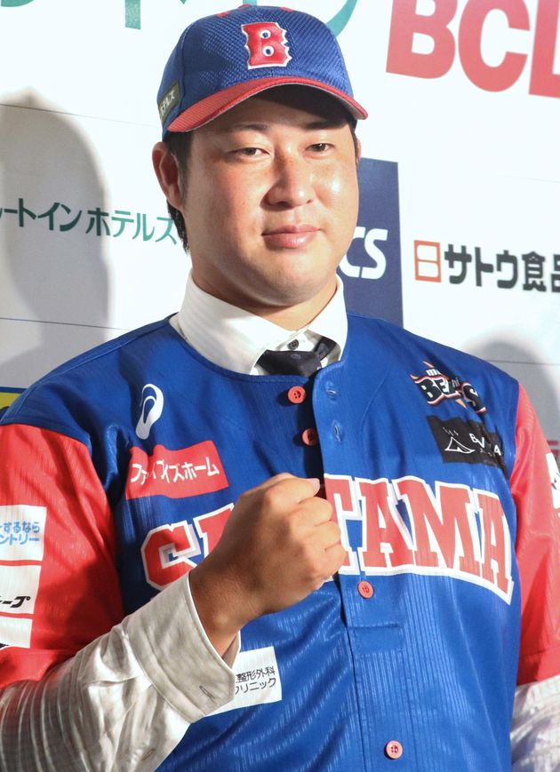 田澤純一投手(BC武蔵)