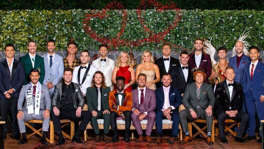 The cast of the 2020 season of 'The Bachelorette