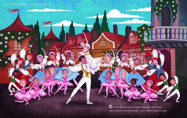 """Boys Dance!"" was released in tandem with a second book, ""B Is for Ballet,"" in honor of American Ballet Theatre's 80th annive"