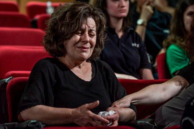 Η μητέρα του δολοφονηθέντος Παύλου Φύσσα, Μάγδα