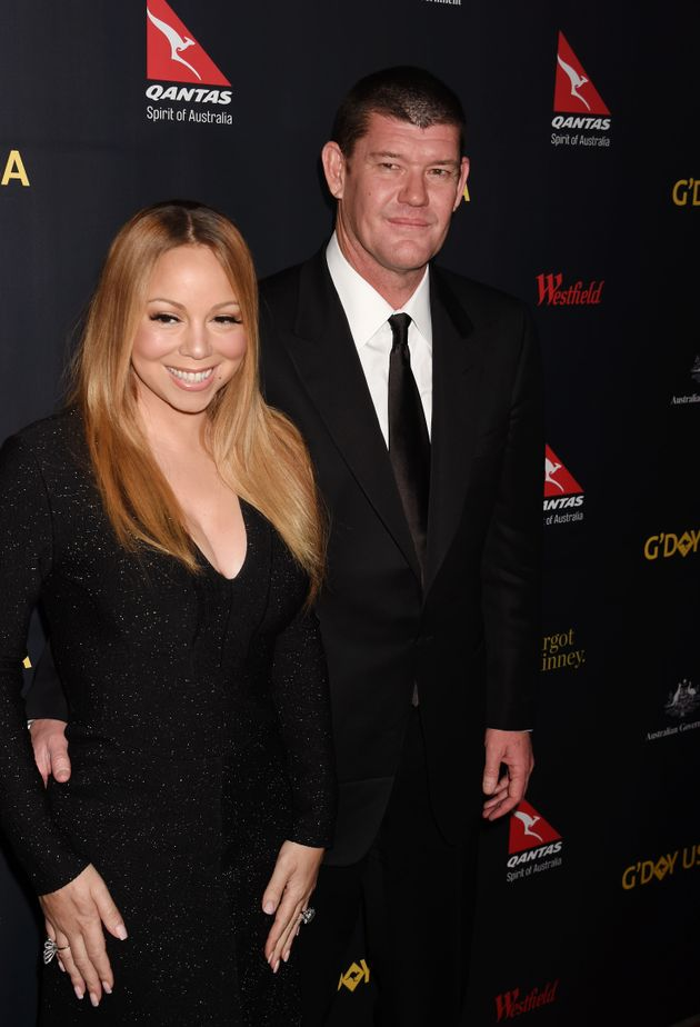 Mariah Carey and James