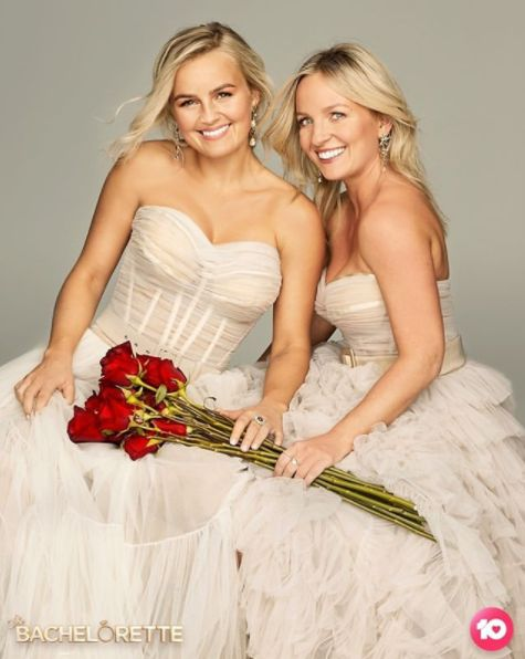 'The Bachelorette Australia' stars Elly Miles and Becky
