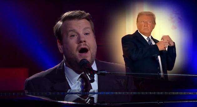 James Corden Roasts Trump With Musical Coronavirus Parody, Maybe I'm Immune