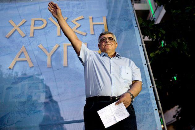 Il leader di Alba Dorata Nikos