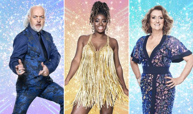 Bill Bailey, Clara Amfo and Jacqui