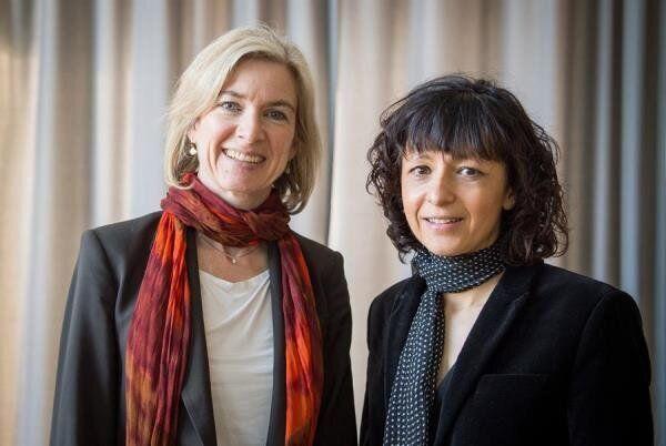 Emmanuelle Charpentier y Jennifer A. Doudna, ganadoras del Nobel de Química