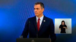 Pedro Sánchez presenta el 'Plan de