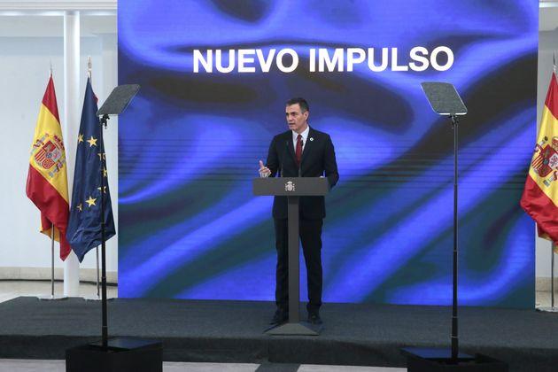 El presidente del Gobierno, Pedro Sánchez, presenta el plan de