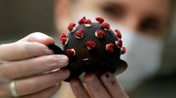 Cafeteria em Praga incorpora doce em formato de coronavírus no