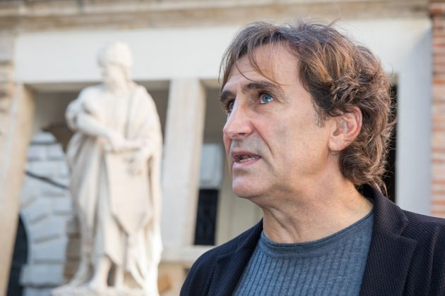 Alex Zanardi participates in the Paralympic Culture Festival organized by the Italian Paralympic Committee...
